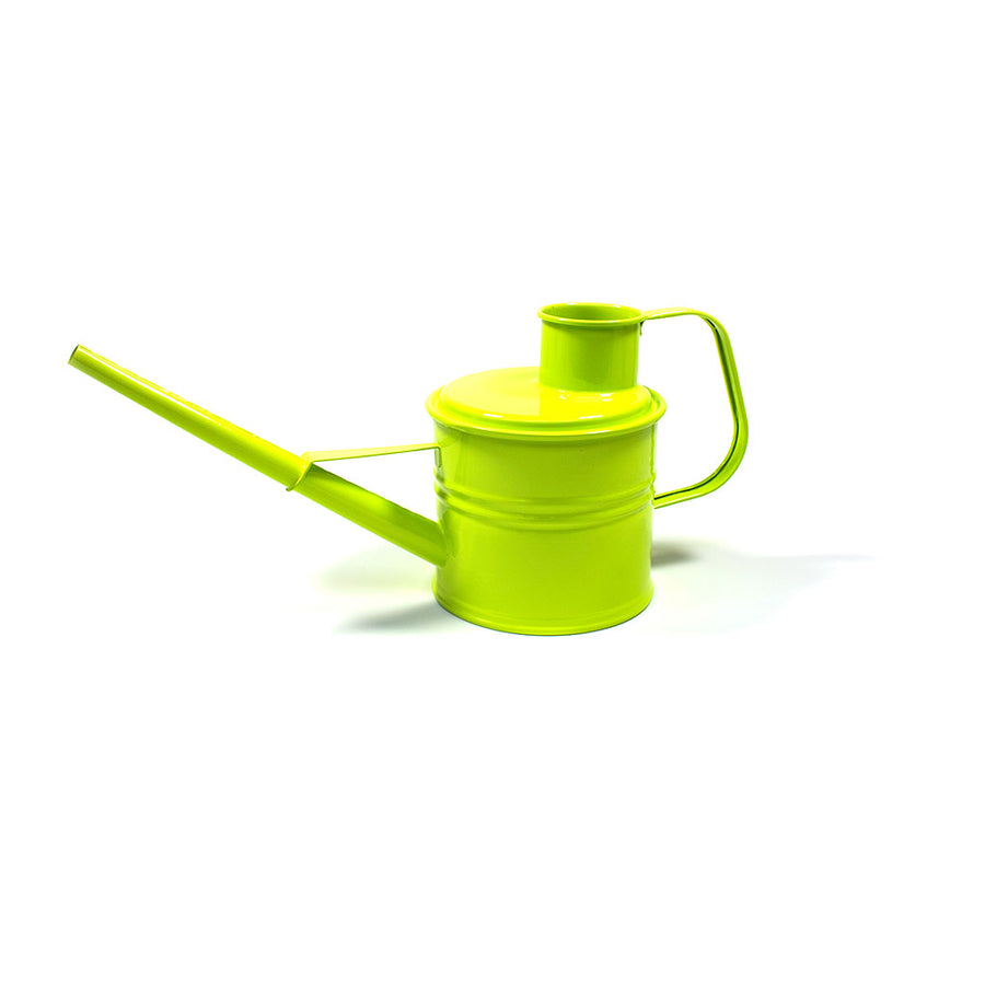 Hortology Classic Zinc Watering Can 2L - Lime Green