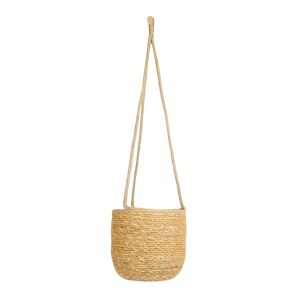 Igmar Hanging Plant Basket - Natural
