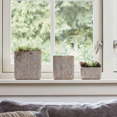 Jari Square Planter - Vintage Collection
