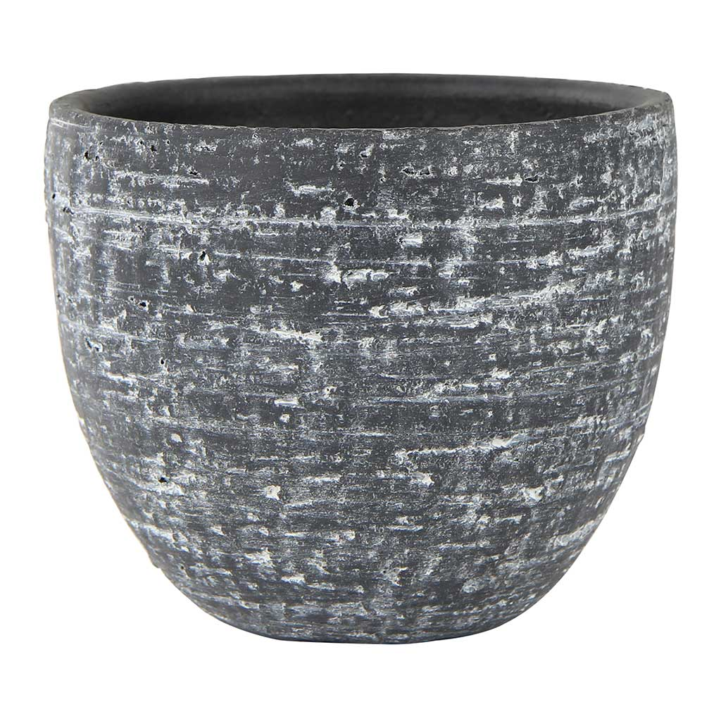 Karlijn Plant Pot - Anthracite - Small Medium