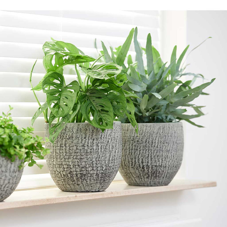 Karlijn Plant Pot - Mint - Small - Medium
