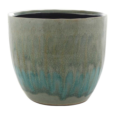Lara Plant Pot - Light Blue - Large