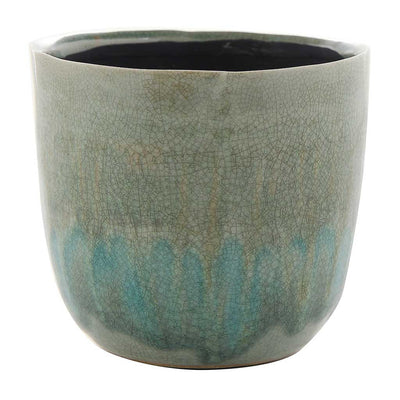 Lara Plant Pot - Light Blue - Medium