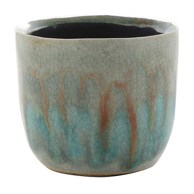 Lara Plant Pot - Light Blue - Small