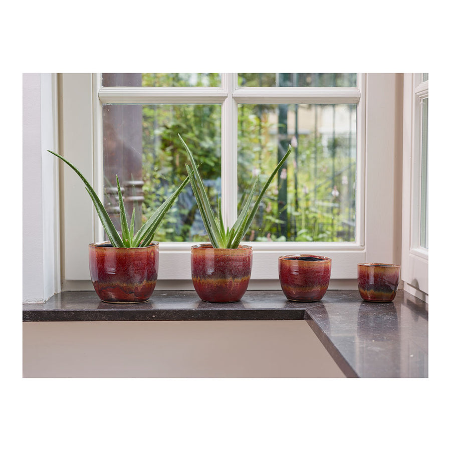 Lara Plant Pot - Passion 13cm