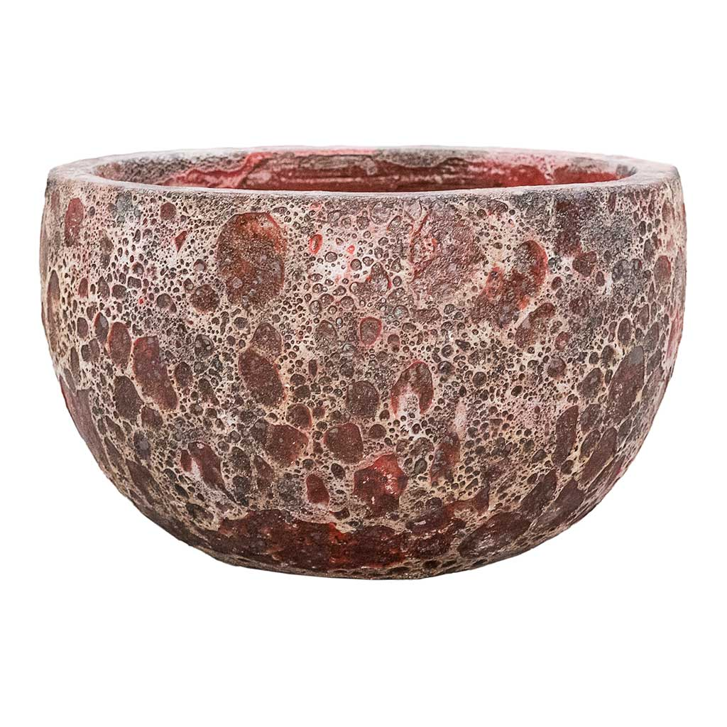 Lava Bowl Relic Planter Pink