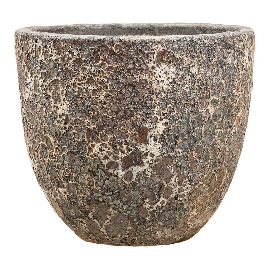 Lava Couple Relic Planter Rust