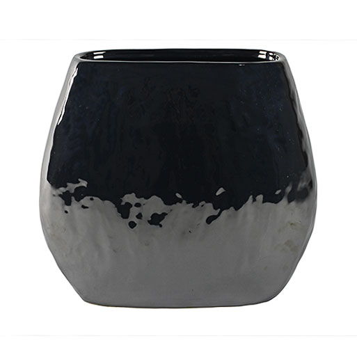 Lieke Oval Planter - Pearl Black