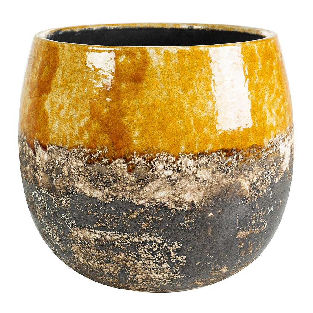 Lindy Plant Pot - Ochre