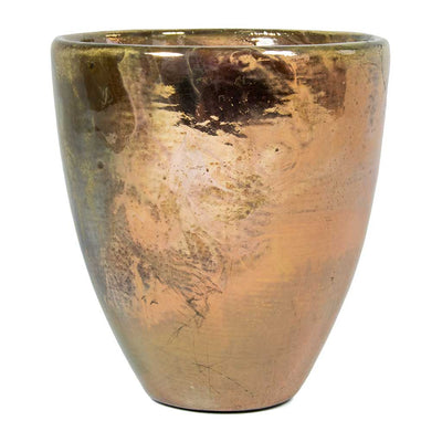 Livin' Beauty Flowerpot - Silver Smooth - 19cm