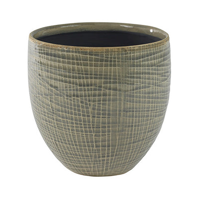 Lotte Plant Pot - Light Grey