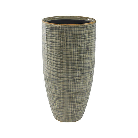 Lotte Plant Vase - Light Grey