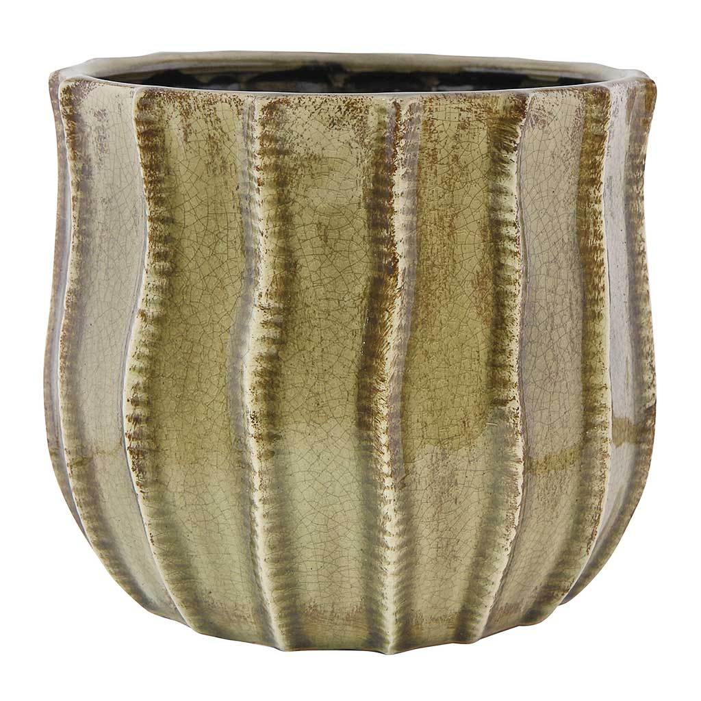 Manon Plant Pot - Taupe - Medium