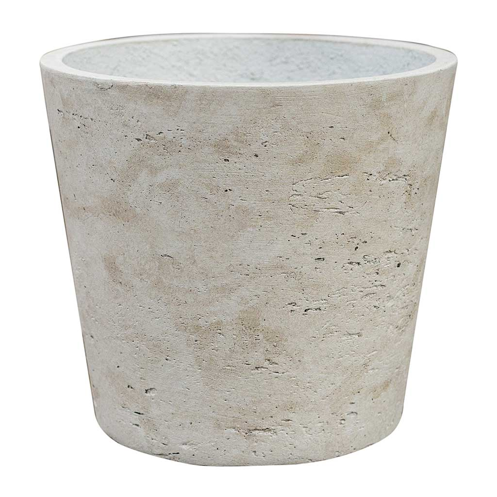 Mini Bucket Plant Pot Grey Washed - Medium