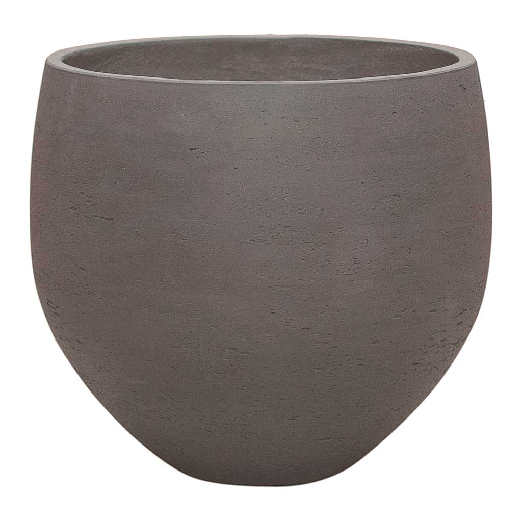 Mini Orb Kevan Plant Pot - Ash Brown