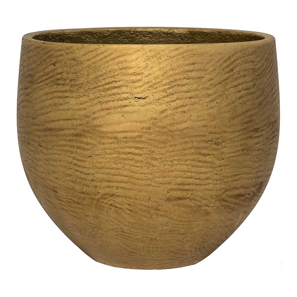 Mini Orb Kevan Plant Pot - Metallic Gold