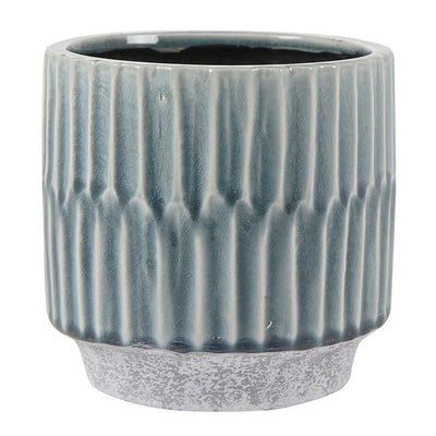 Onno Plant Pot - Blue - Small