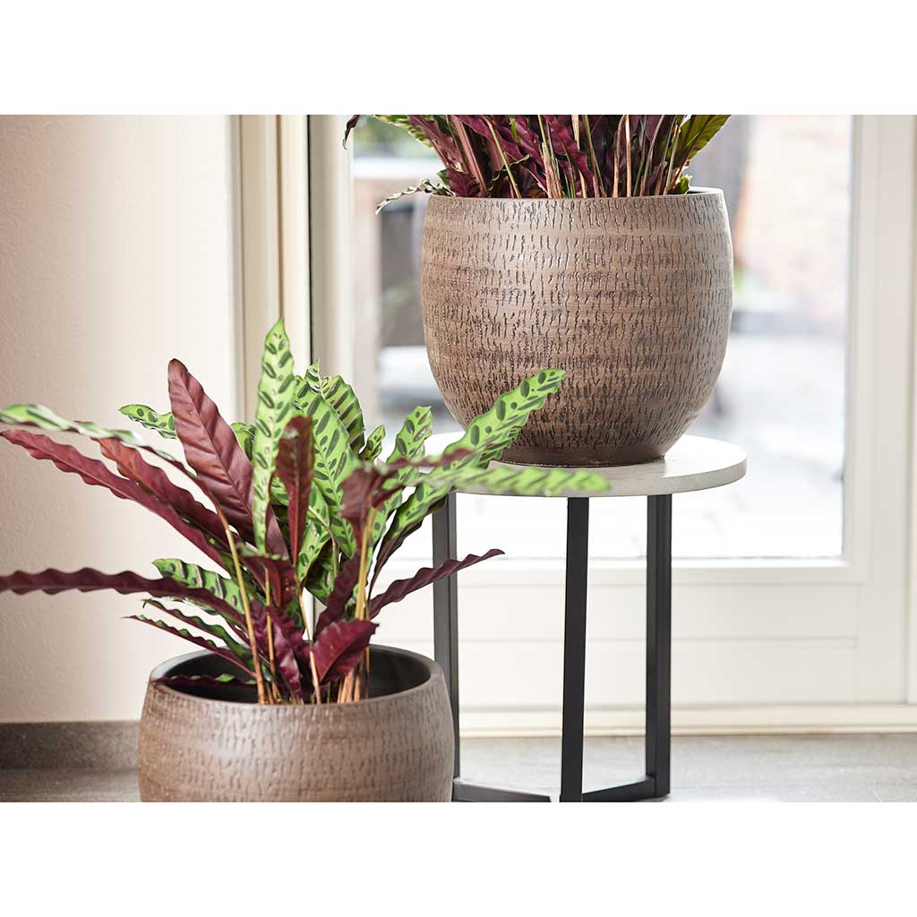 Owen Plant Pot - Brown - Small