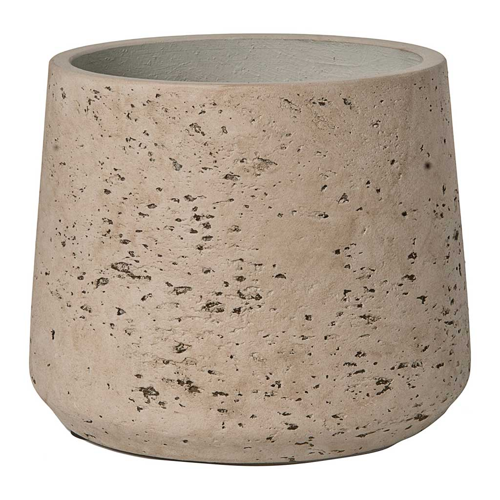 Patt Plant Pot - Grey Washed M