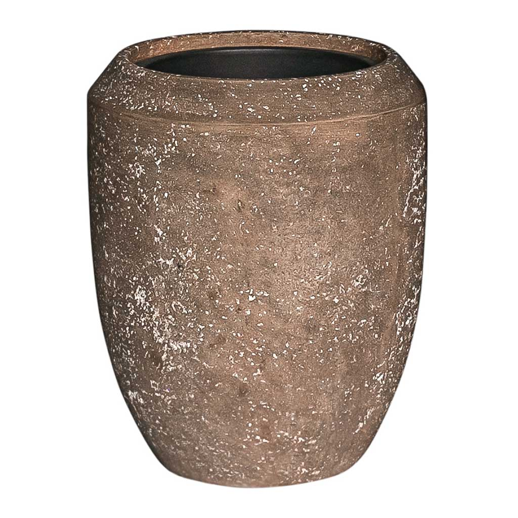 Polystone Coated Plain Coppa Planter Rock