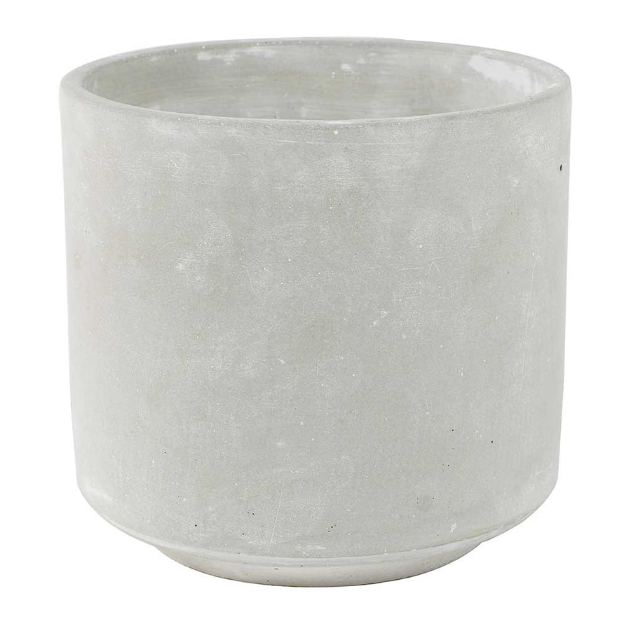 Saar Plant Pot - Cement Small