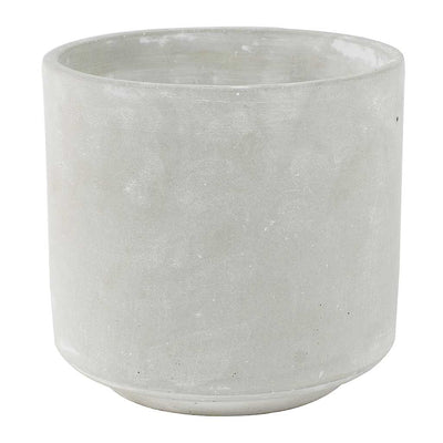 Saar Plant Pot - Cement Large