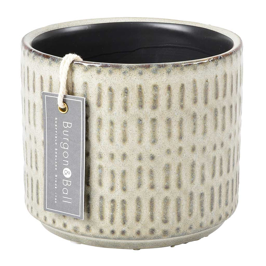 San Francisco Plant Pot - Soft Grey