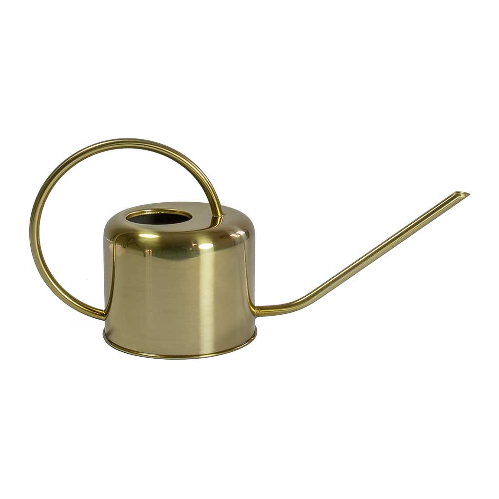 Gold Coloured Watering Can 1L