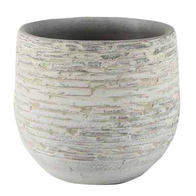 Stijn Plant Pot - Grey - Small - Medium