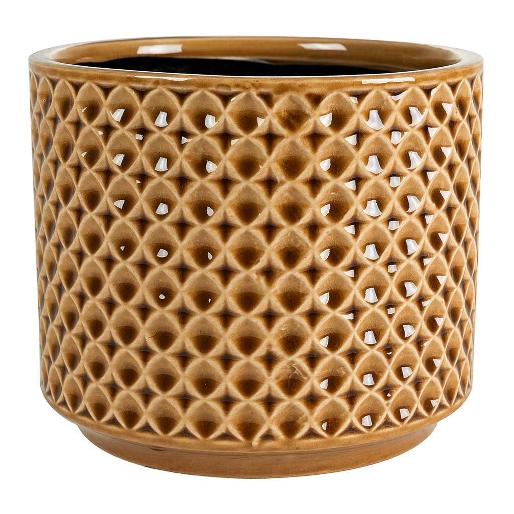 Thies Plant Pot - Mustard