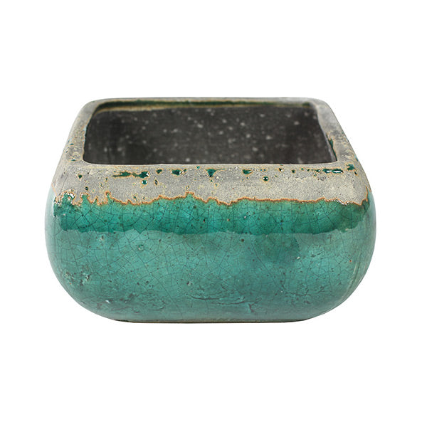 Tijn Plant Bowl - Sea green