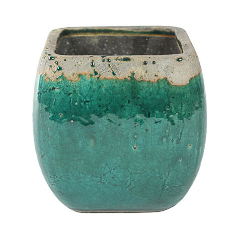 Tijn Plant Pot - Sea Green 14cm, 15cm