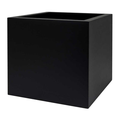 UP2U Square Planter - Matt Black - Medium