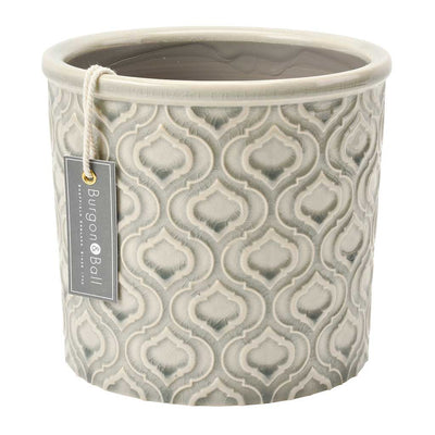 Venetian Plant Pot - Grey - Large