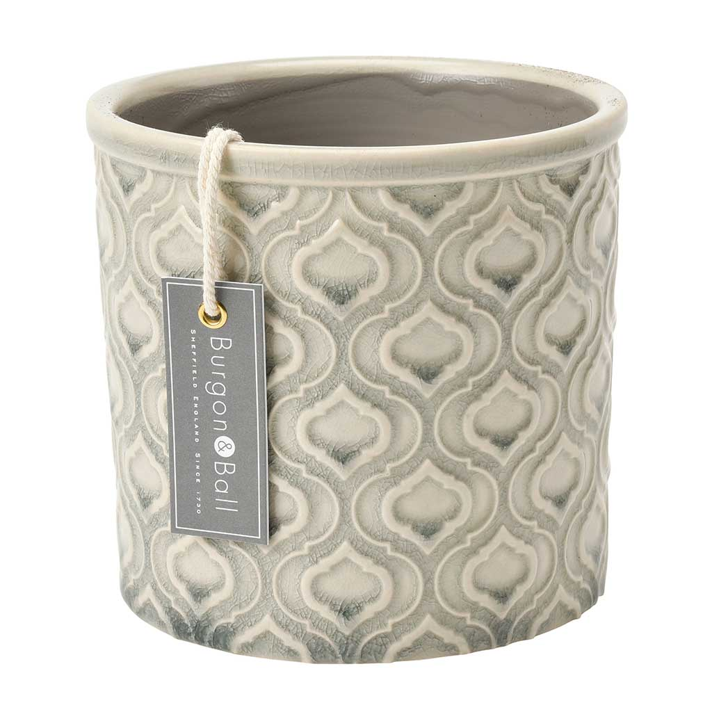 Venetian Plant Pot - Grey - Small