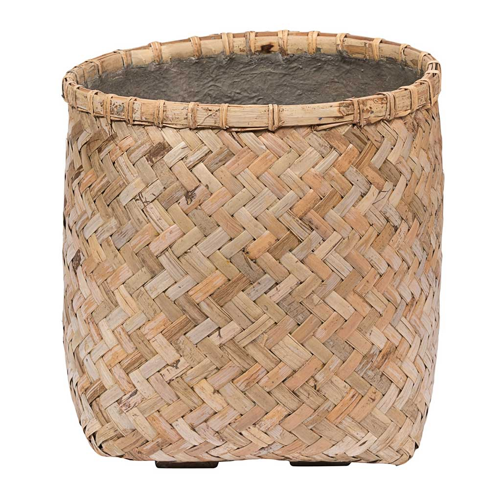 Zayn Bamboo Planter - Large