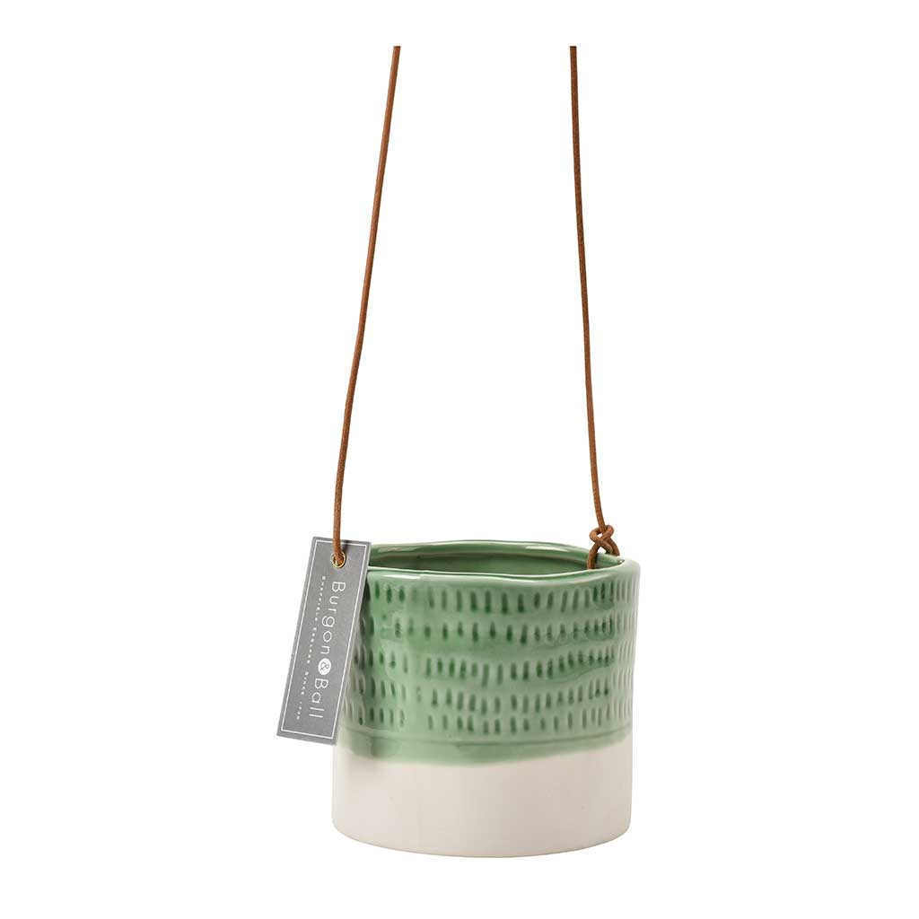 Pie Crust Hanging Indoor Plant Pot