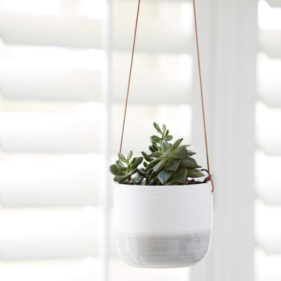 Ripple Hanging Indoor Pots