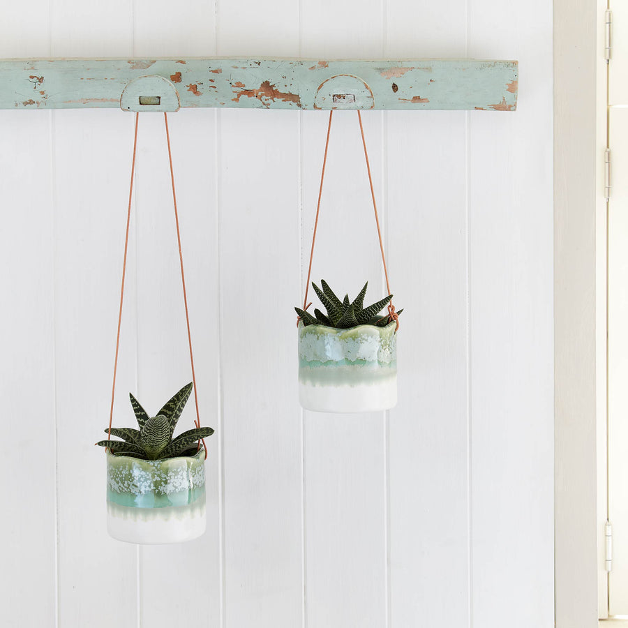 Wave Hanging Indoor Plant Pots
