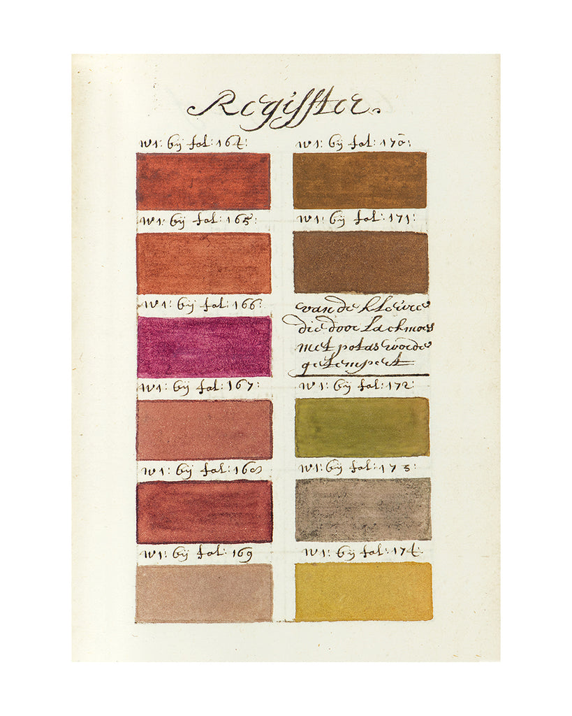 17th Century Paintbox Palette E - Large