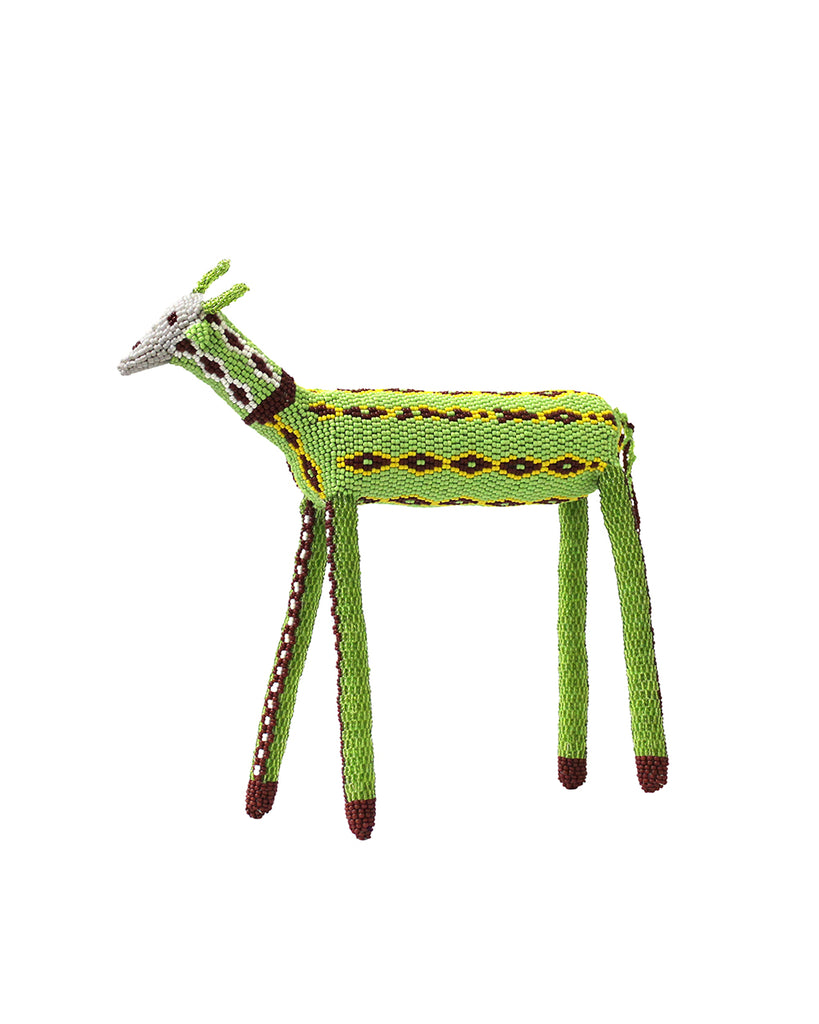 Patterned Green Goat