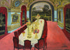 OIL PAINTING | The Banquette Hall