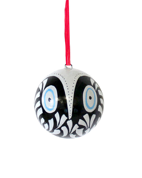 MODERNIST OWL : Feathers (Black)