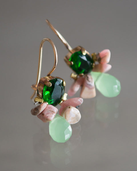 NEW BAROQUE BUMBLE BEE EARRINGS N0.1