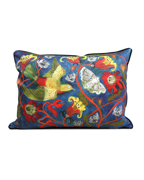 Large Cushion cover: Chasing Moths