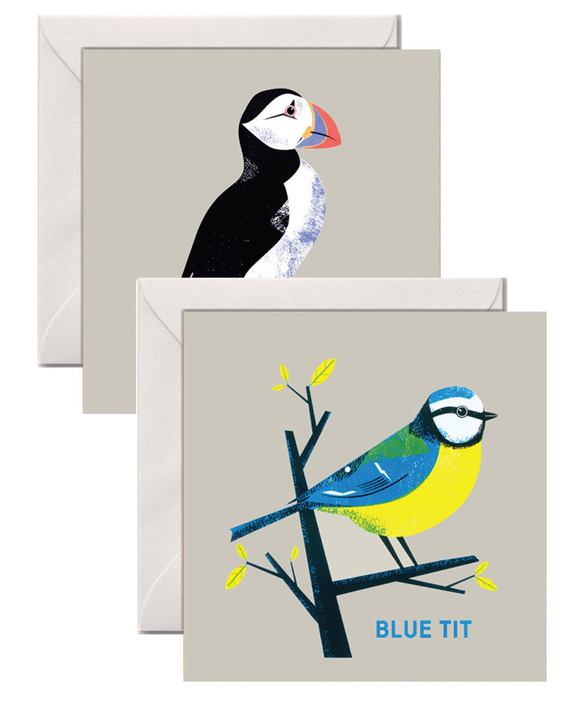 GREETINGS CARDS BRITISH BIRDS