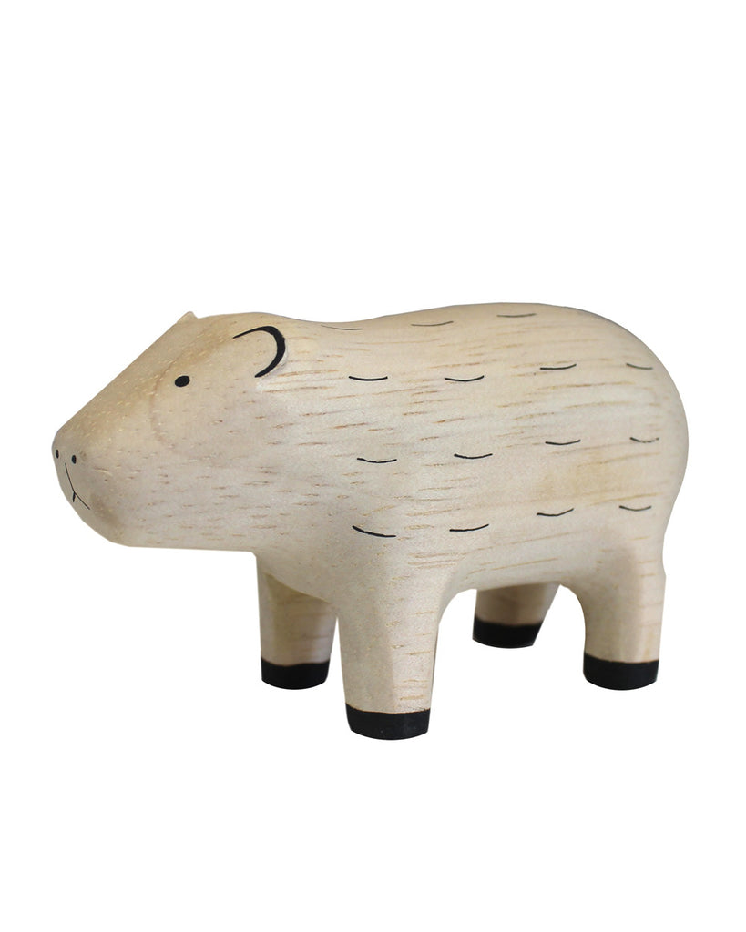 Wooden Animal Boar