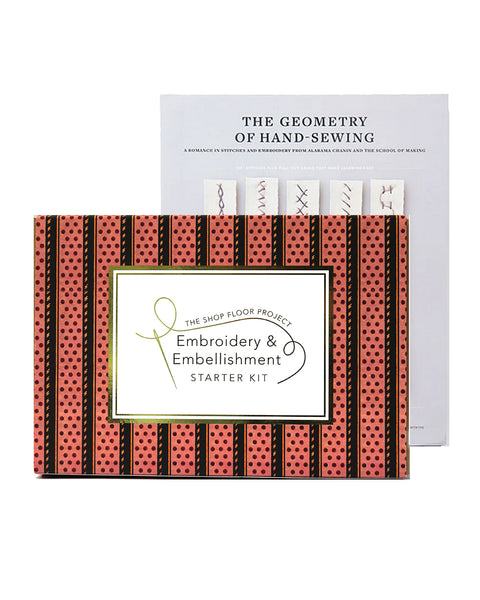 EMBROIDERY & EMBELLISHMENT STARTER KIT