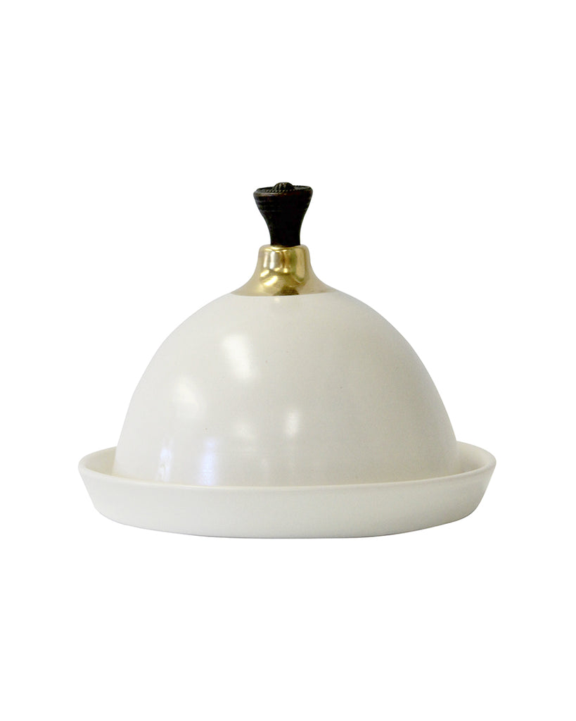 Fancy Handle & Gold - Domed Pot
