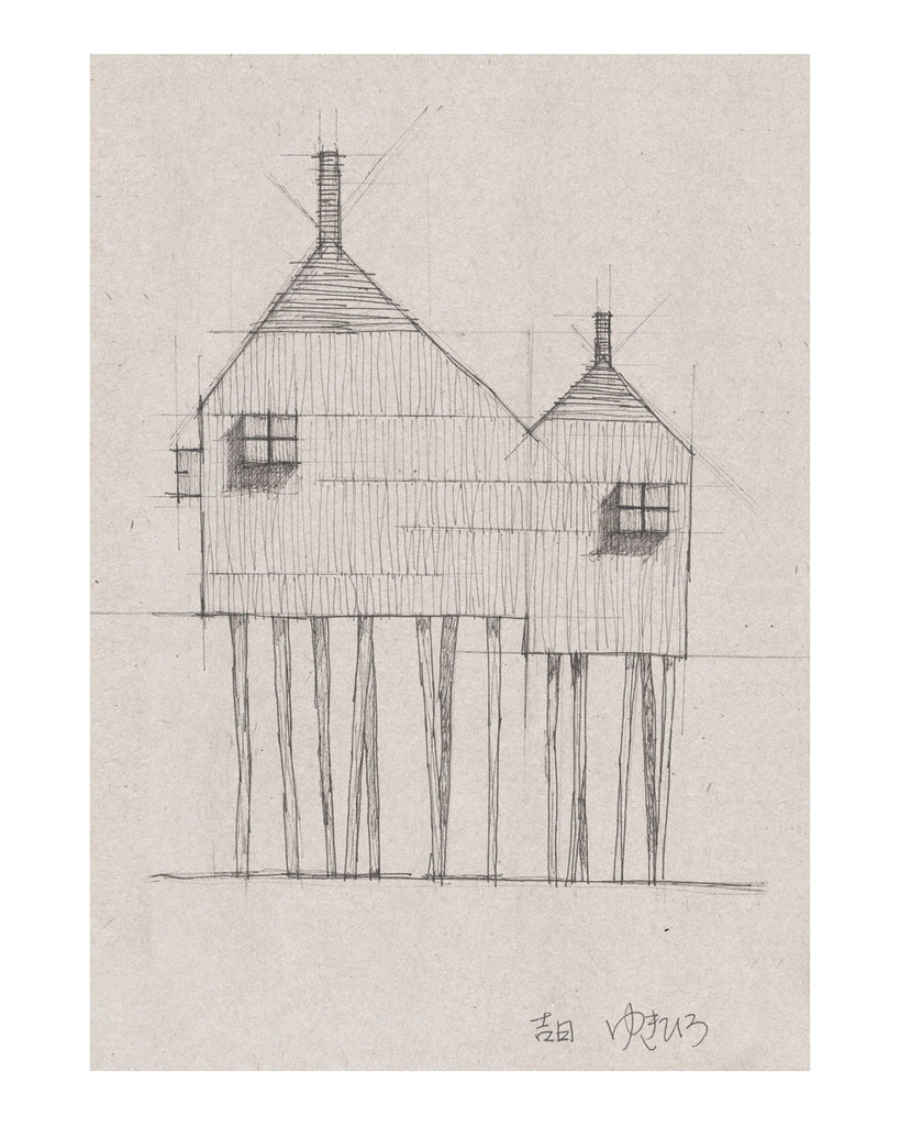 Plans for Beach House (on stilts)